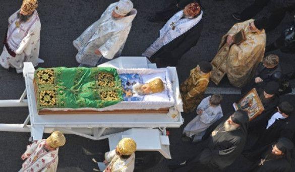 Похорони патріарха Павла