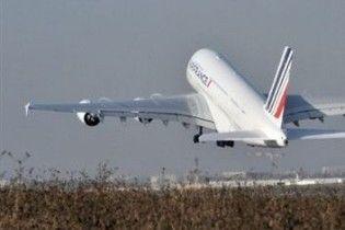 A380 відправився в перший трансатлантичний політ