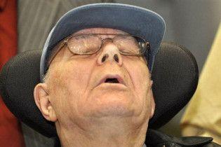 Суд над Дем'янюком перенесено через його хворобу