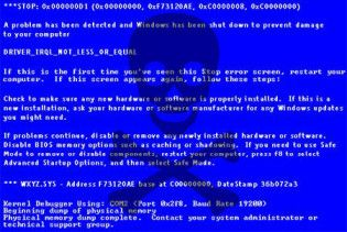"""Серед Windows 7 поширюються """"чорні екрани смерті"""""""