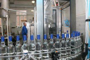 В Україні скоротилося виробництво горілки