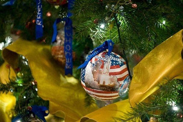 У Білому домі встановили різдвяну ялинку