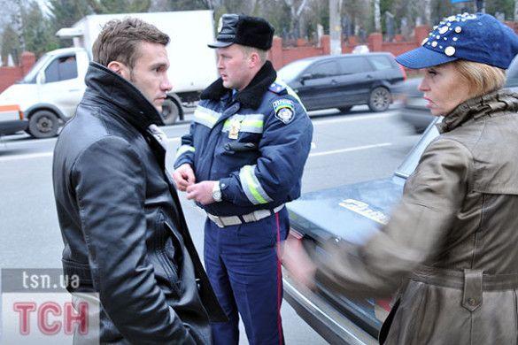 Андрій Шевченко потрапив у ДТП