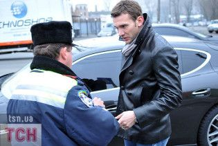ДАІ назвала винуватця ДТП за участю Шевченка