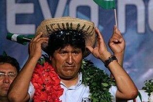 Ево Моралеса переобрали президентом Болівії