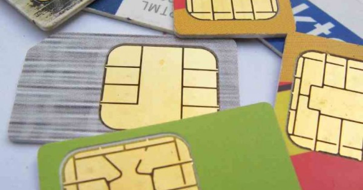 Recovery sms sim card
