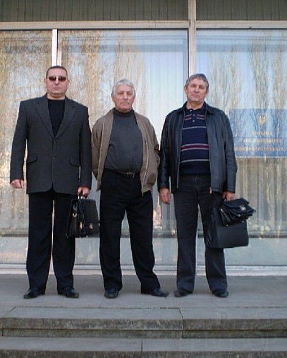 Семен Клюєв з адвокатами