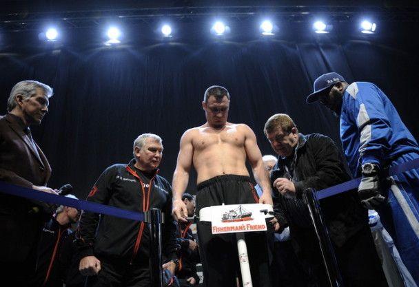 Віталій Кличко важчий за Джонсона
