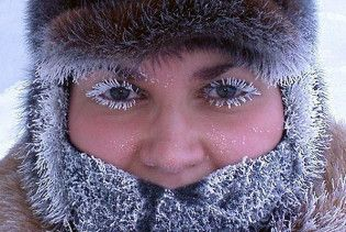 На вихідних в Україні буде 30-градусний мороз