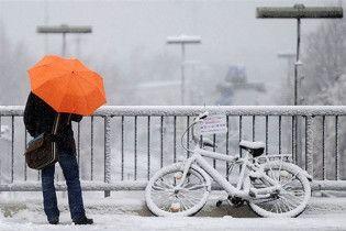 Погода в Україні на суботу, 13 березня