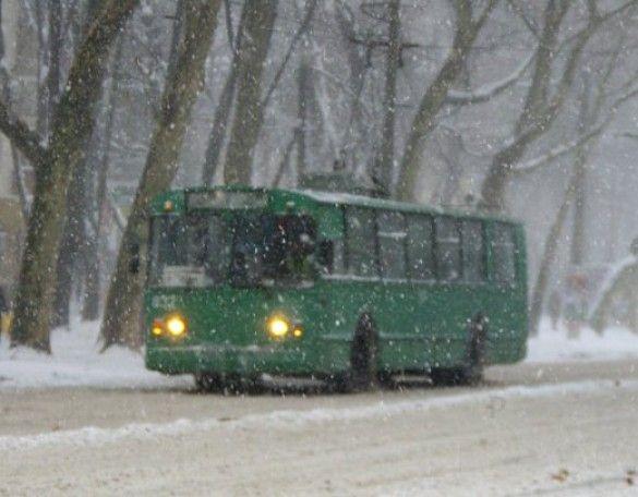 Снігопад, Одеса