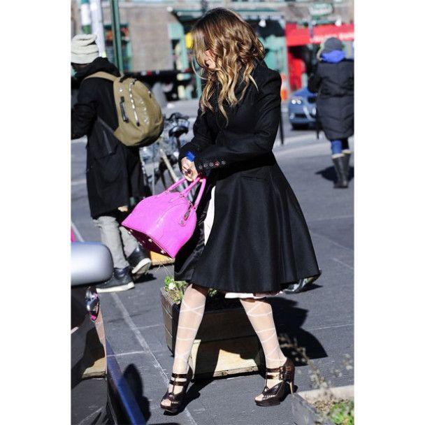 Вітер мало не здув сукню із Сари Джессіки Паркер