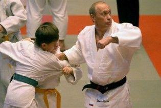 Путін попросив включити його до збірної Росії з дзюдо