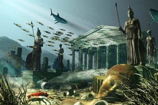 Знайдено ще одну легендарну Атлантиду - вона була змита цунамі