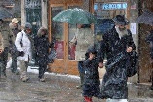 На Італію обрушилися снігопади та сильні морози