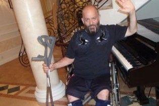 Михайло Шуфутинський зламав обидві ноги