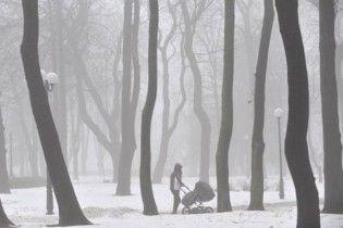 На Україну знову насуваються снігопади і морози