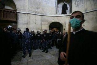 У храмі в Віфлеємі побилися грецькі та вірменські священики