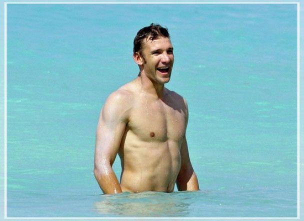Андрій Шевченко відпочиває від футболу на Карибах