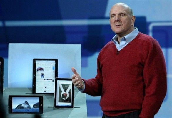 Microsoft представляє планшетник