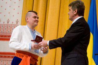 Ющенко привітав українців із Днем Соборності