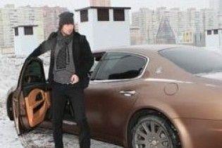Мілевський позичив у друзів Maserati