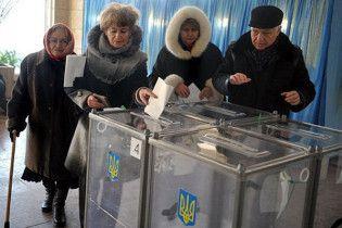 ЦВК підрахувала явку виборців на дільниці