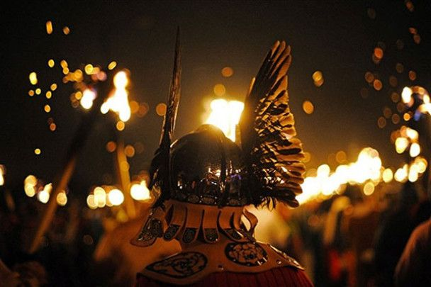 Фестиваль вікінгів у Шотландії