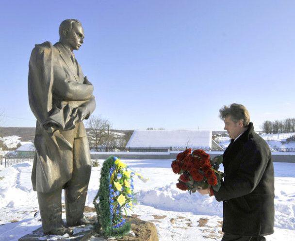 Ющенко відвідав музей Степана Бандери