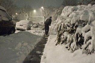 Снігопад у США залишив сотні тисяч людей без світла й паралізував роботу аеропортів