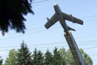 У Тернополі демонтують пам'ятник льотчикам, які загинули у Другій світовій
