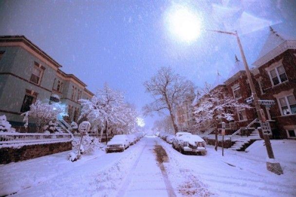 Рекордний снігопад у Вашингтоні