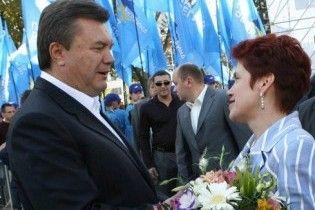 У Росії Людмилу Янукович порівняли з Раїсою Горбачовою