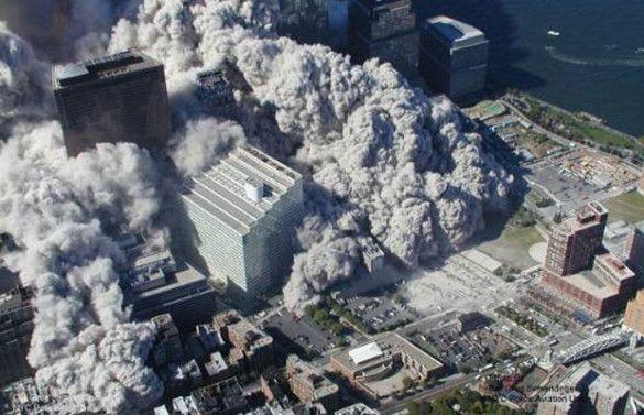 Нові фотографії теракту 11 вересня. Фото NYPD Det. Greg Semendinger