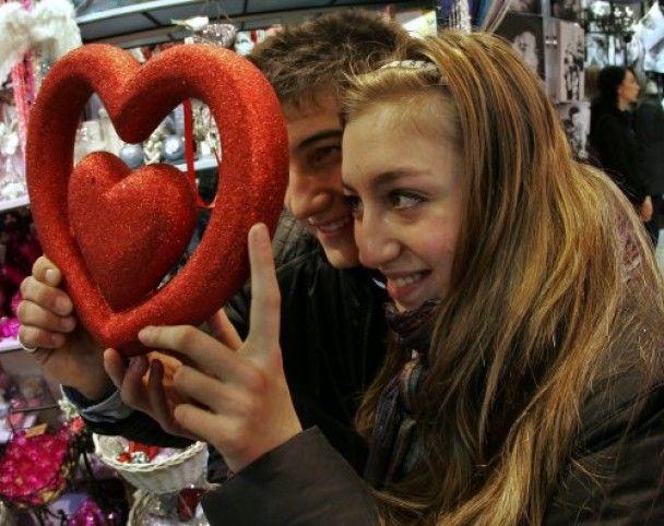 В Україні святкують День закоханих