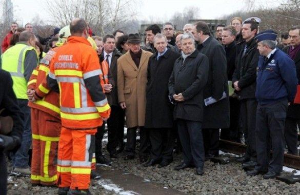 Зіткнення потягів у Бельгії