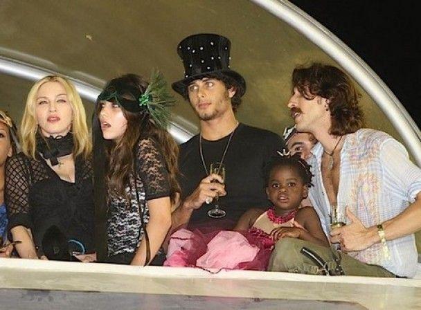 "Мадонна прийшла на ""Бразильський карнавал"" з українським музикантом"