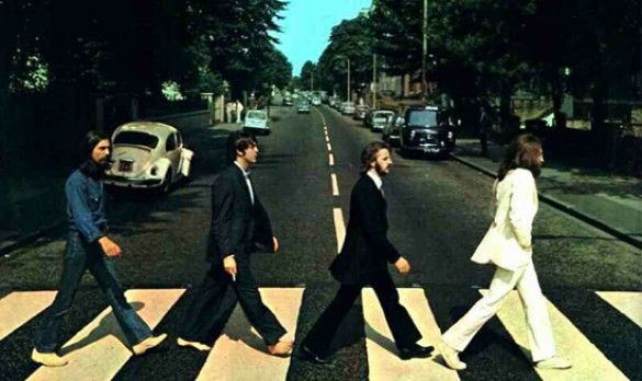 The Beatles на Abbey Road