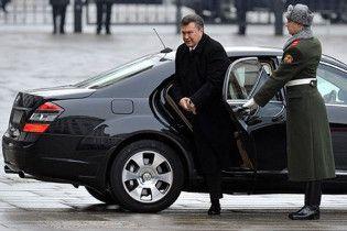 Янукович відвідає Москву 5 березня