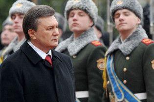 Янукович взяв на себе обов'язки верховного головнокомандувача Збройних сил