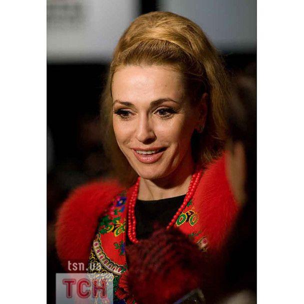 Євгенія Тимошенко прийшла подивитись на одяг Андре Тана