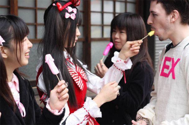 Фестиваль фалосів у Японії