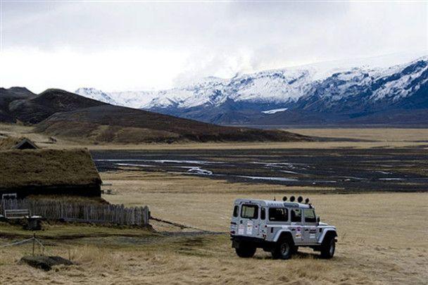 Виверження вулкана у Ісландії