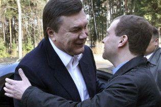 Янукович і Мєдвєдєв поговорять про газ у Вашингтоні