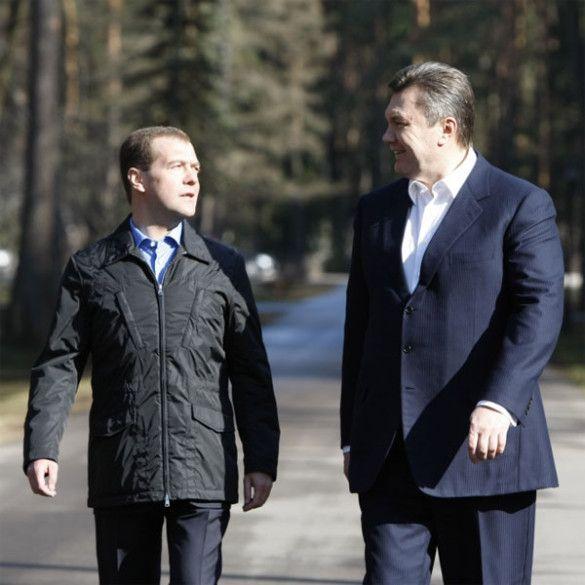 Віктор Янукович у Москві