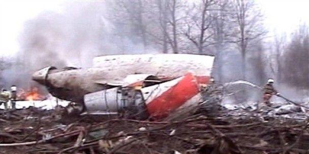 """Знайдено обидві """"чорні скриньки"""" літака президента Польщі"""