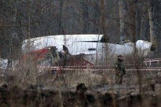 Літак Качинського міг розбитися через відключену систему сигналізації