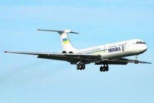 Українські урядовці до завершення кризи літатимуть несправними літаками