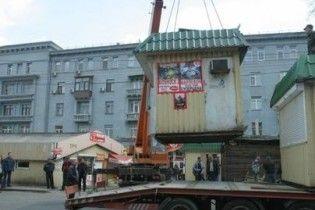 Всі кіоски біля метро і в центрі Києва знесуть