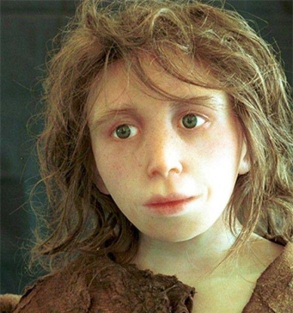 Реконструкція зовнішнього вигляду юного неандертальця